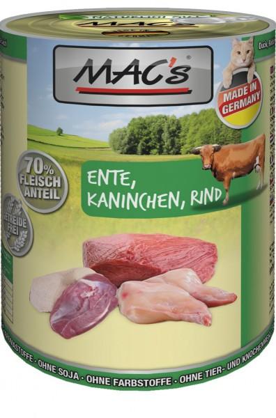 MACs Cat Ente, Kaninchen, Rind 400g