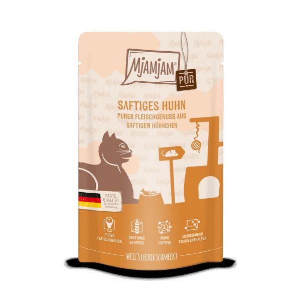 MjAMjAM - Quetschie - purer Fleischgenuss - saftiges Hühnchen pur 125 g