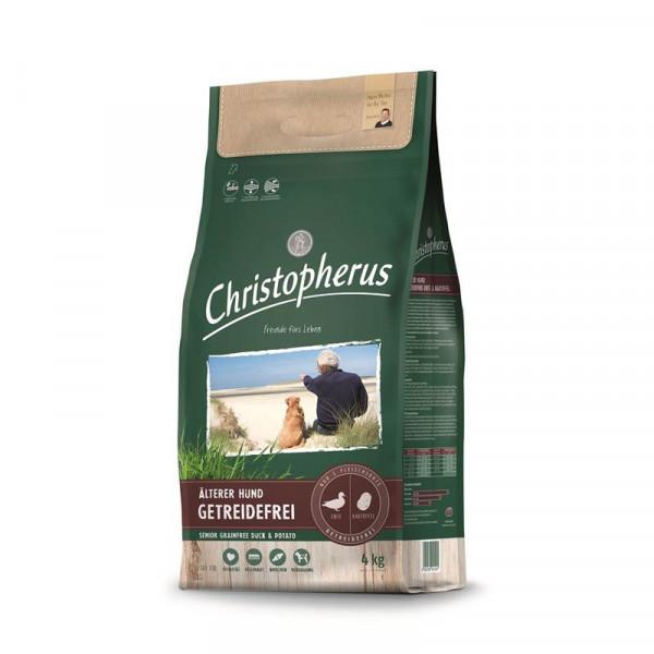 Christopherus Getreidefrei Senior Ente & Kartoffel 4kg