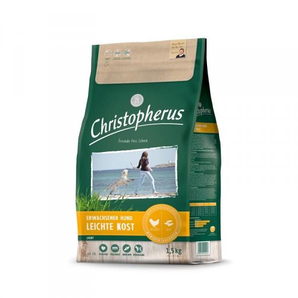 Christopherus Leichte Kost Geflügel, Reis & Gerste 1,5kg
