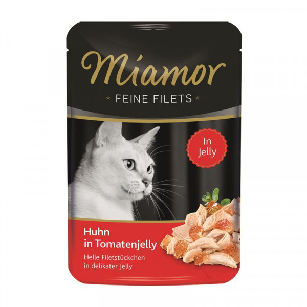 Miamor FB Feine Filets Huhn & Tomatenjelly 100g