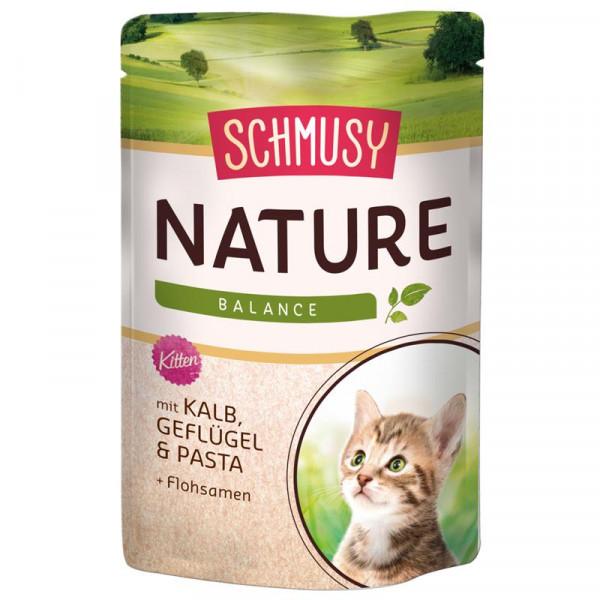Schmusy Nature Balance FB Kitten Kalb 100g