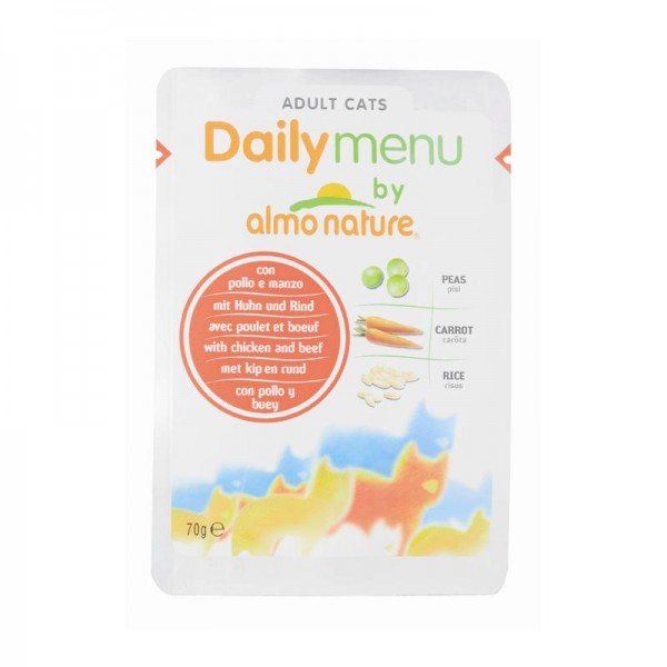 Almo Nature PFC Daily Menu Huhn & Rind 70g