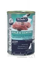Dr. Clauders Selected Meat Kalb+Gemü. 400g