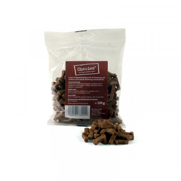 Chewies Geflügelknöchelchen 200g