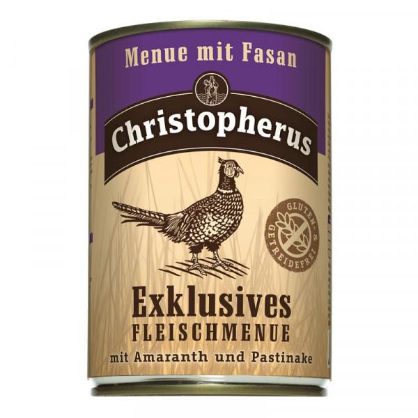 Christopherus Dose Menue mit Fasan 400g