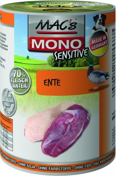 MACs Dog Mono Sensitive Ente 400g