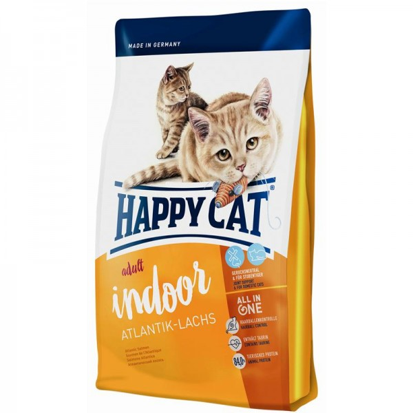 Happy Cat Supreme Indoor Atlantik-Lachs 4 kg