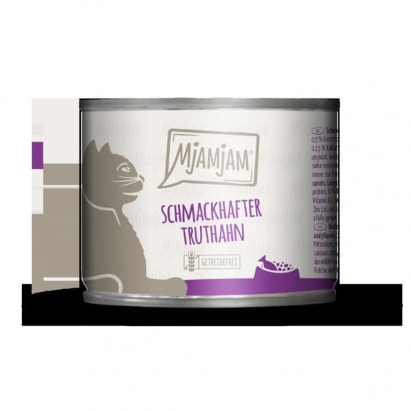 MjAMjAM - schmackhafter Truthahn an leckeren Möhrchen 200 g