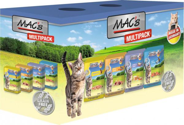 MACs Cat Pouchpack Multipack mit Fisch 12 x 100g