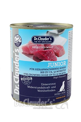 Dr. Clauders Selected Meat Junior 800g