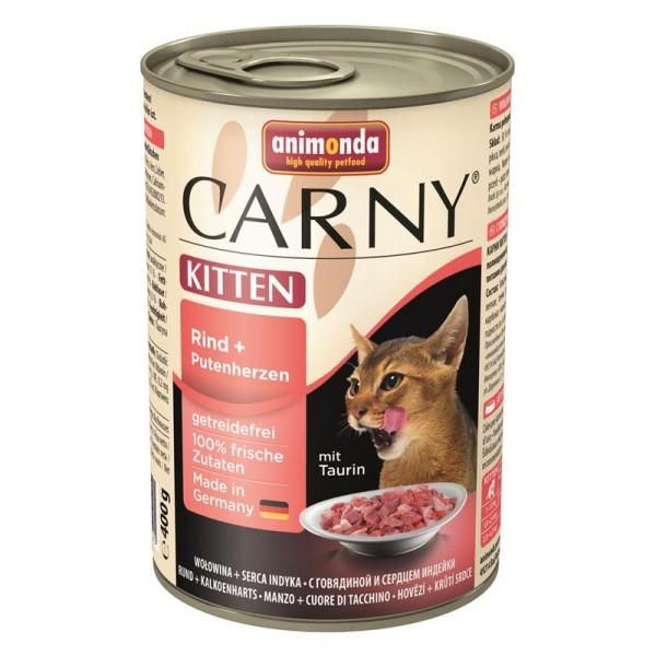 Animonda Carny Kitten Rind & Putenherzen 400g
