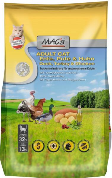 MACs Cat Adult Ente, Pute & Huhn 1,5kg