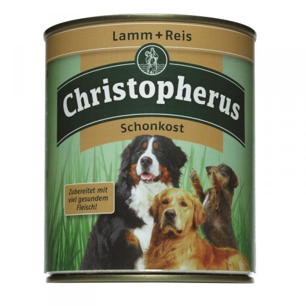 Christopherus Dose Lamm & Reis pur Schonkost 800g