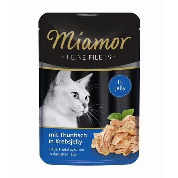 Miamor FB Feine Filets Thunfisch in Krebsjelly 100g