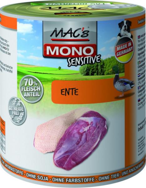 MACs Dog Mono Sensitive Ente 800g