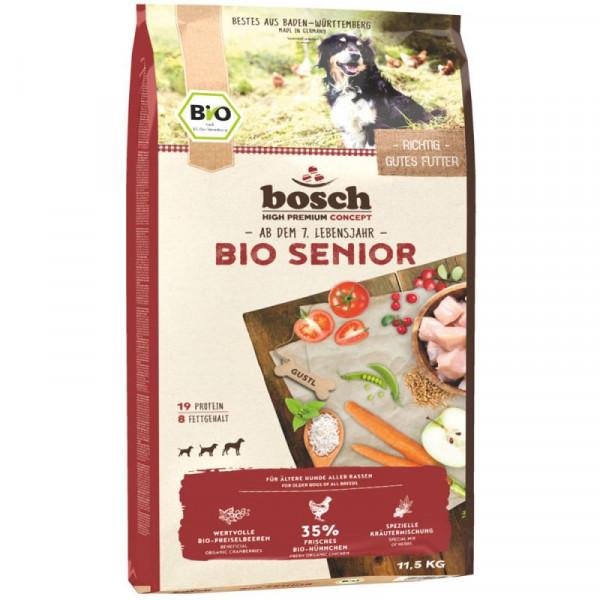 Bosch Dog Bio Senior Hühnchen & Preiselbeere 11,5kg