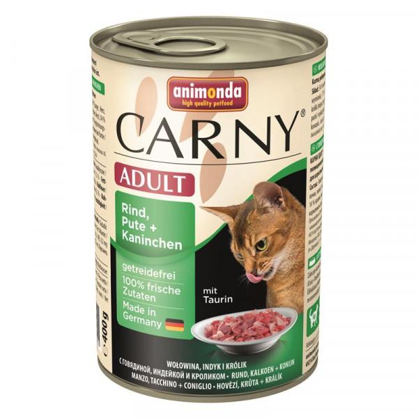 Animonda Carny Adult Rind & Pute & Kaninchen 400g