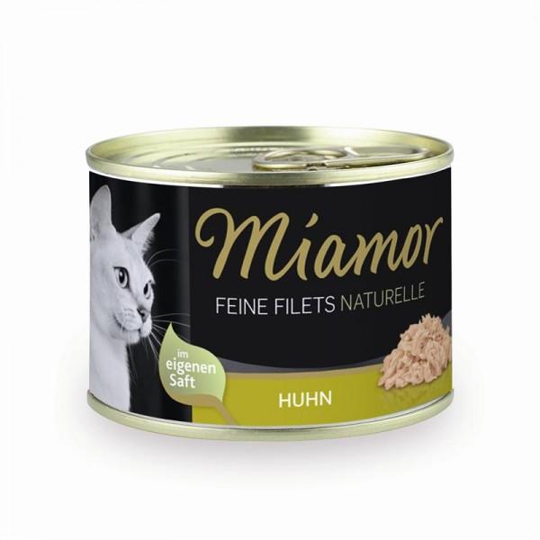 Miamor Dose Feine Filets Naturelle Huhn 156g