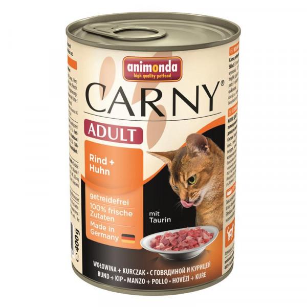 Animonda Carny Adult Rind & Huhn 400g