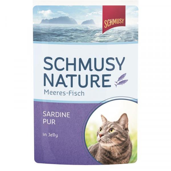 Schmusy Nature Meeres-Fisch FB Sardine pur 100g