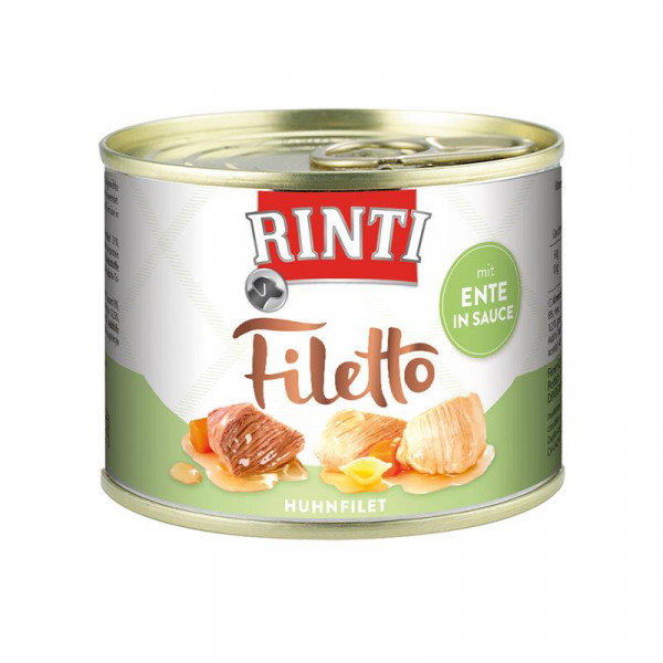 Rinti Dose Filetto Huhn & Ente in Sauce 210g