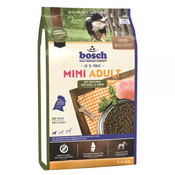 Bosch Mini Adult Geflügel & Hirse 3 kg