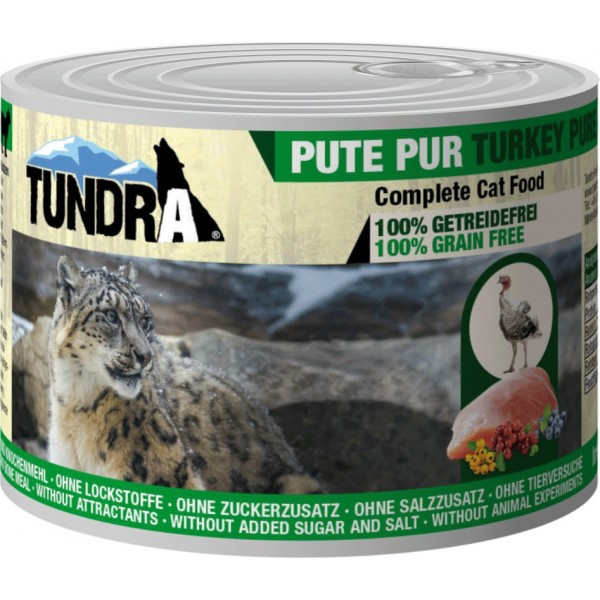 Tundra Cat Pute Pur 400g