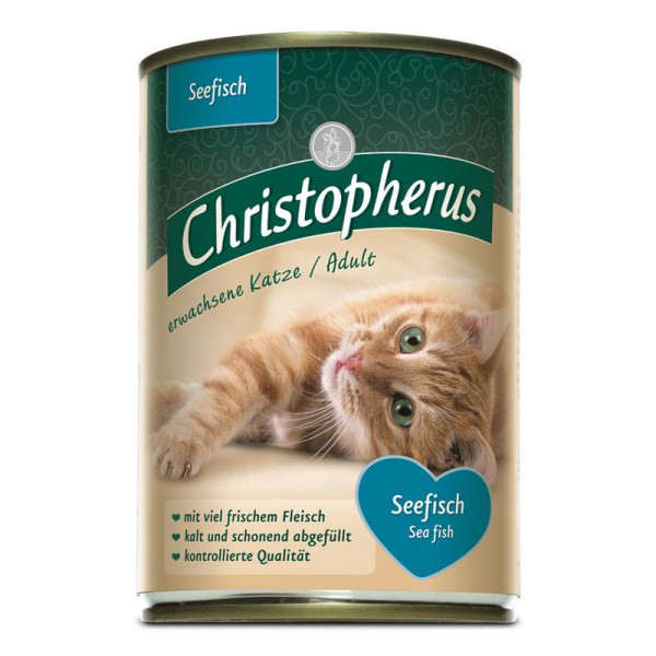 Christopherus Cat Dose Adult Seefisch 400g