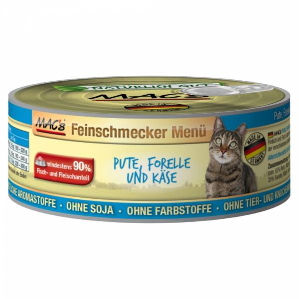 Macs Cat Pute-Forelle 100g