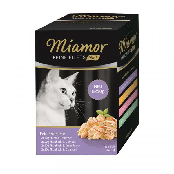 Miamor FB Feine Filets Mini Multibox Feine Auslese 8x50g