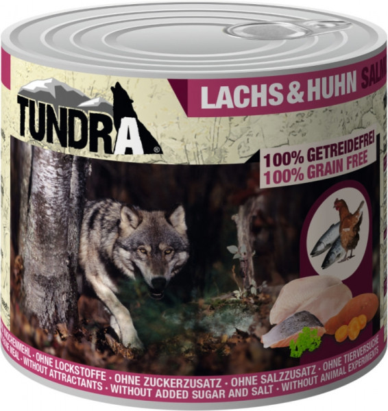Tundra Dog Lachs+Huhn 400g