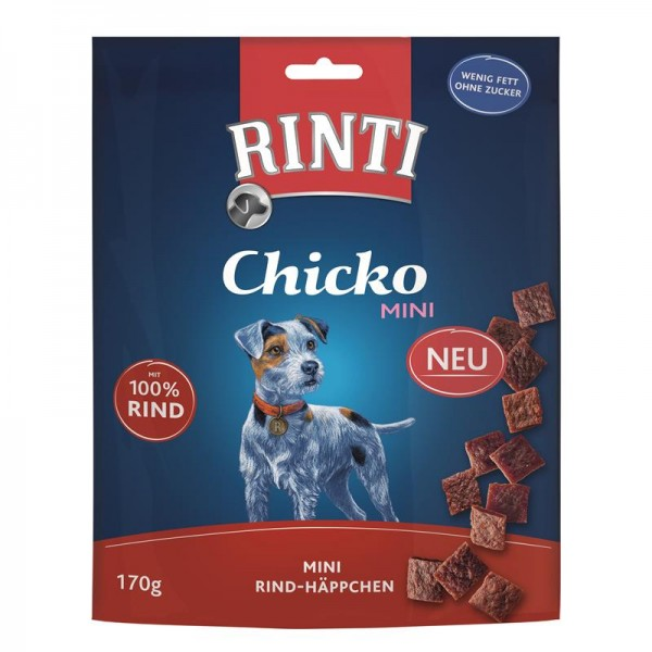 Rinti Extra Chicko Mini Kleine Stückchen aus Rind 170g