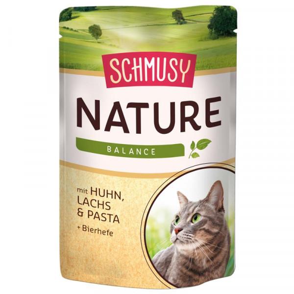 Schmusy Nature Balance FB Menü Huhn und Lachs 100g
