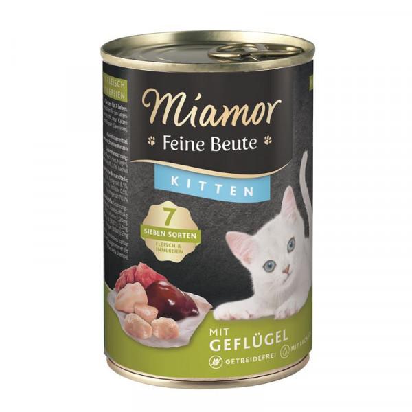 Miamor Dose Feine Beute Kitten Geflügel 400g