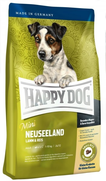 Happy Dog Supreme Sensible Mini Neuseeland 4kg