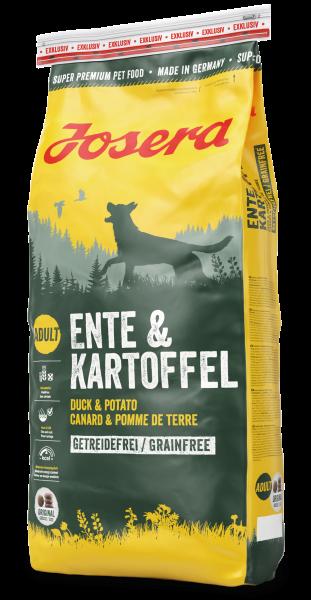 Josera Ente+Kartoffel 15kg