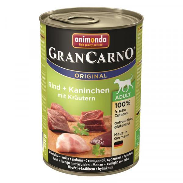 Animonda GranCarno Adult Kaninchen & Kräuter 400g