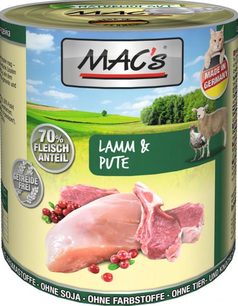 MACs Cat Lamm & Pute 800g