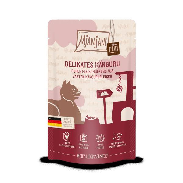 MjAMjAM - Quetschie - purer Fleischgenuss - zartes Känguru pur 125 g