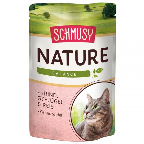 Schmusy Nature Balance FB Rind & Geflügel 100g
