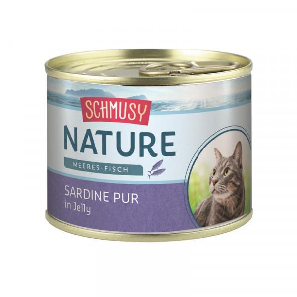 Schmusy Nature Meeres-Fisch Dose Sardine pur 185g
