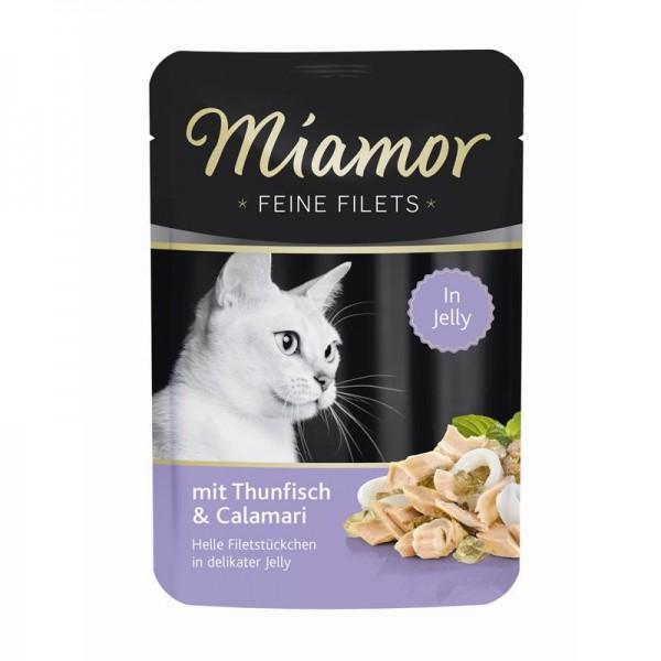 Miamor FB Feine Filets Thunfisch & Calamari 100g