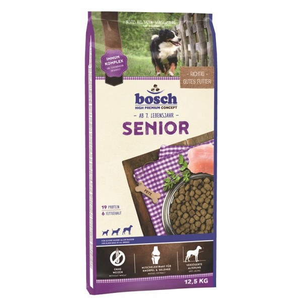 Bosch Senior 12,5 kg   Bosch Hundefutter   Trockenfutter