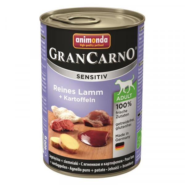 Animonda GranCarno Adult Sensitive Lamm + Kartoffeln 400g