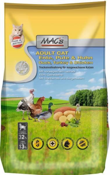 MACs Cat Adult Ente, Pute & Huhn 7kg