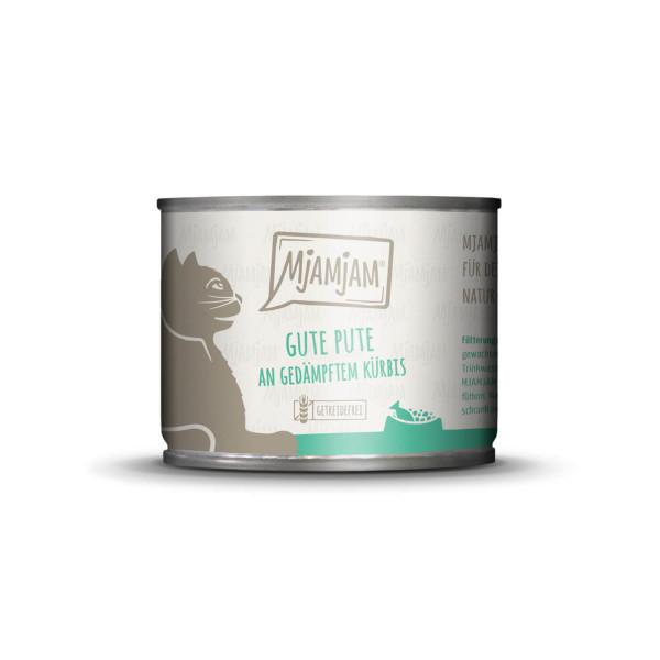 MjAMjAM - gute Pute an gedämpftem Kürbis 200 g