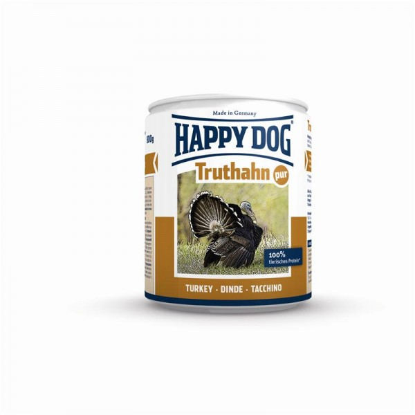Happy Dog Dose Truthahn Pur 800g