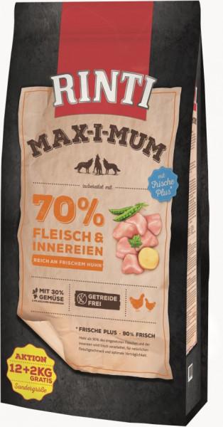 Rinti MaxiMum Huhn 12kg + 2kg gratis