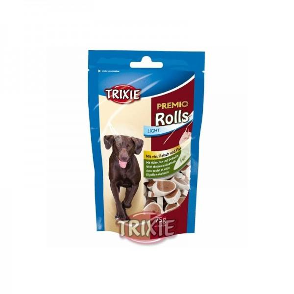 Trixie Premio Rolls, Hühnchen und Seelachs 75 g